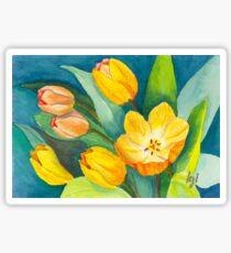 Tulips in Bloom Sticker