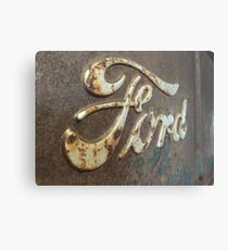 Rusty Ford Canvas Print