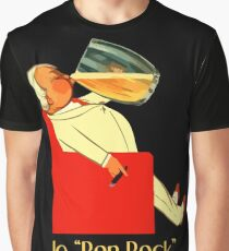 Retro French beer ad Le Bon Bock Graphic T-Shirt