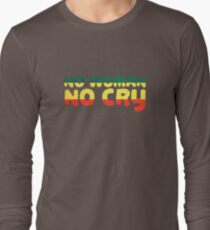 No Woman No Cry Bob Marley Lyrics Peace Love T-Shirt