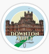Downton Abbey - Castle Sticker