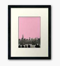 New York Nights Framed Print