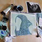 Totemic Animal - SoJie 12 Workshop - WIP 5 (b) by Ina Mar
