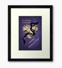 Thoughts for a Mother ~ Far Away Framed Print