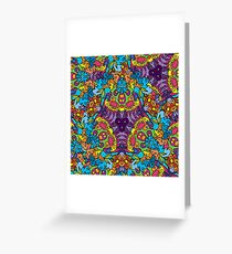 Psychedelic LSD Trip Ornament 0002 Greeting Card