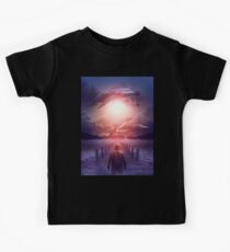 The Space Between Dreams and Reality Kids Tee