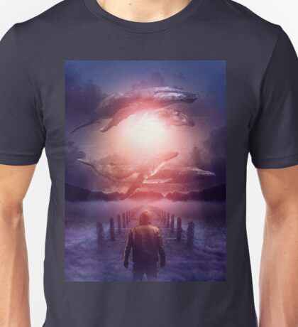 The Space Between Dreams and Reality Unisex T-Shirt