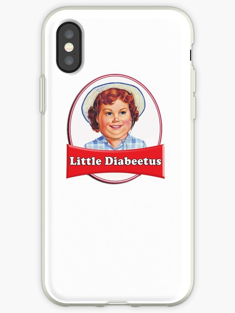Little Diabeetus Little Debbie Lil Debbie Logo Parody Iphone