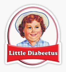 Little Diabeetus (little Debbie) 'lil debbie logo parody Sticker