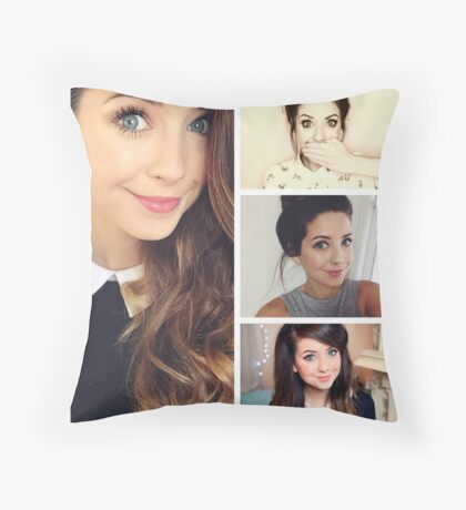 Zoella Throw Pillows : Zoella: Gifts & Merchandise Redbubble