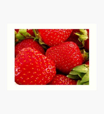 Strawberries! Bolzano/Bozen, Italy Art Print
