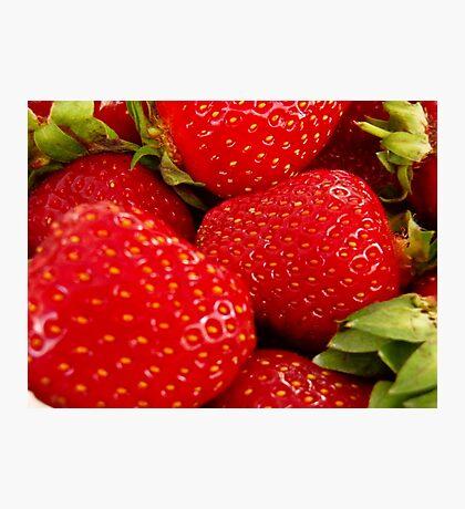 Strawberries! Bolzano/Bozen, Italy Photographic Print