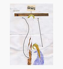 Christ on the Cross (after Giotto) Photographic Print