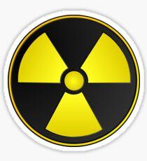 Radioactive Fallout Symbol Geek Sticker