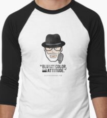 BLU Is More Than A Color (alt) Men's Baseball ¾ T-Shirt