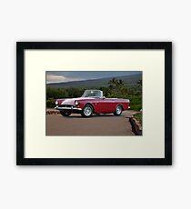 1965 Sunbeam Tiger MK1 Framed Print