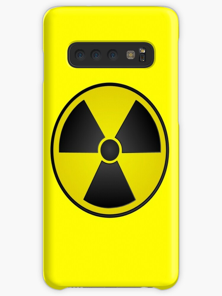 'Radioactive Fallout Symbol Nerd' Case/Skin for Samsung Galaxy by  AMagicalJourney
