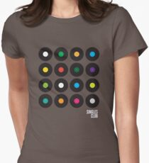 Singles Club Women's Fitted T-Shirt