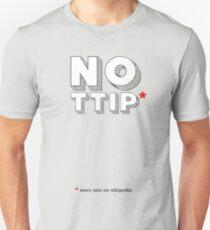 No Ttip - Red Asterisk T-Shirt