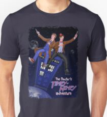 THE DOCTOR'S TIMEY-WIMEY ADVENTURE  (full cover) T-Shirt