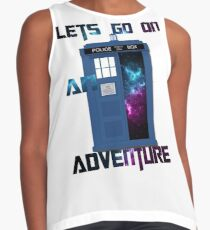 TARDIS-Let's go on an adventure #2 Contrast Tank