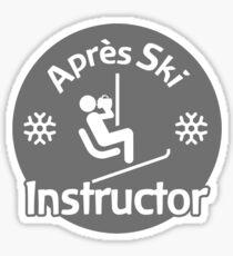 Après Ski Instructor Sticker