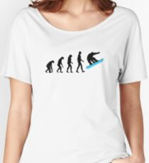 Evolution Snowboard Women's Relaxed Fit T-Shirt