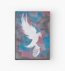 dove and grenade galaxy  Hardcover Journal