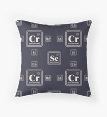 Chemistry of the business Throw Pillow