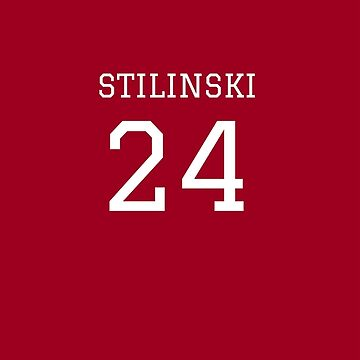 Stilinski Jersey Number by angelacole