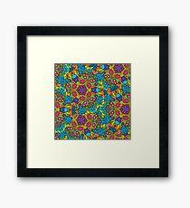 Psychedelic LSD Trip Ornament 0006 Framed Print