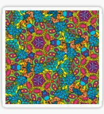 Psychedelic LSD Trip Ornament 0006 Sticker