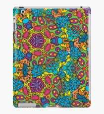 Psychedelic LSD Trip Ornament 0006 iPad Case/Skin