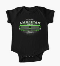 CLASSIC DODGE CHARGER MOPAR MUSCLE CAR | GREEN One Piece - Short Sleeve