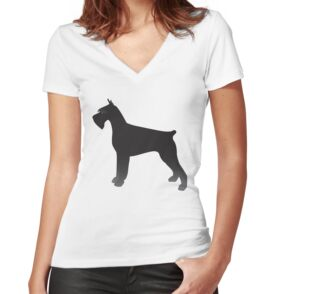 Quot Giant Schnauzer Basic Breed Silhouette Quot Stickers By