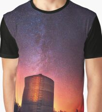 Galactic Prairie Graphic T-Shirt