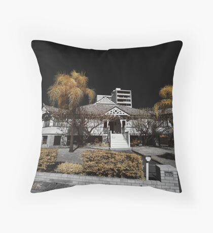 West end mansion Throw Pillow