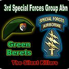 3rd Special Forces Group (Abn) by woodywhip