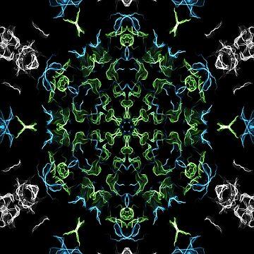 kaleidoscope silk design 3 by chloemease