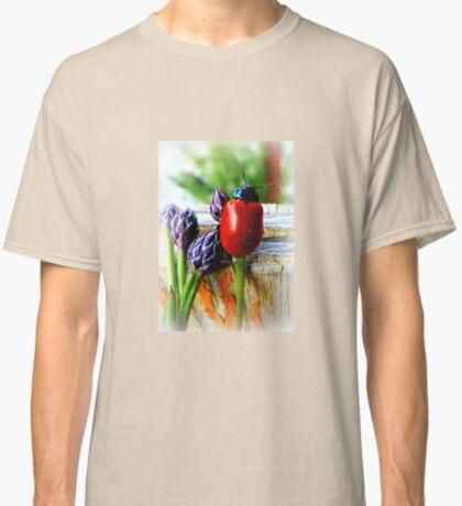 Pappelblattkäfer (Chrysomela populi) Classic T-Shirt