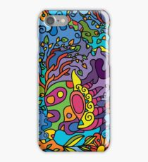 Psychedelic LSD Trip Ornament 0001 iPhone Case/Skin