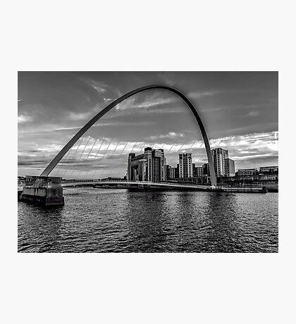 Gateshead Millenium Bridge Photographic Print