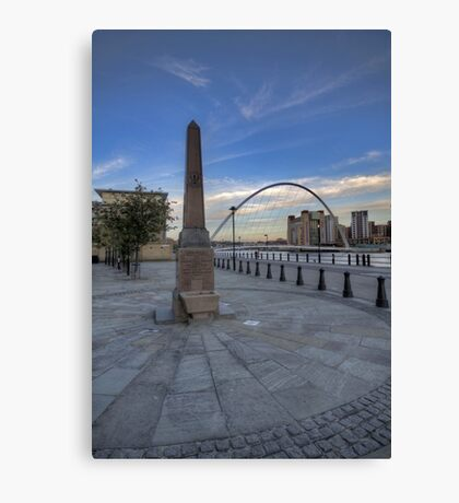 Newcastle Quayside Canvas Print