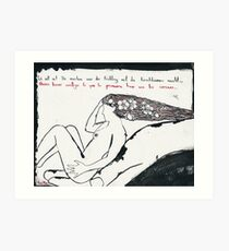 I want to do with you what spring does with the cherry trees Art Print