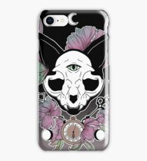 Twilight -- Skull Cat iPhone Case/Skin