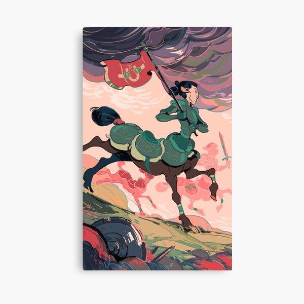Centaur knight Canvas Print