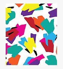 New Kicks On The Block Photographic Print