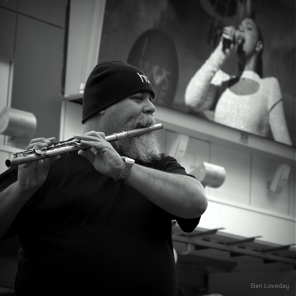 The Flautist by Ben Loveday