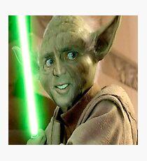 Yoda Cage Photographic Print