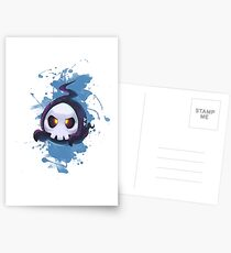 Skull Cute Postcards